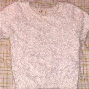 9284750c31 ... Hollister Fuzzy Crop Top ...